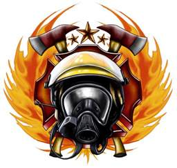 firefighter designs clipart