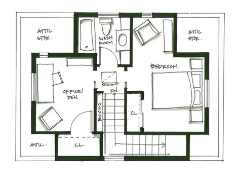 house with attic floor plan pin by j k hilgers on floor plan pinterest