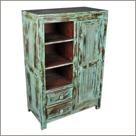chifferobe armoire rustic old reclaimed wood distressed chifferobe wardrobe