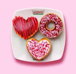 Happy Hearts From Krispy Kreme by Free Cards And Donuts Can It Get Any Better