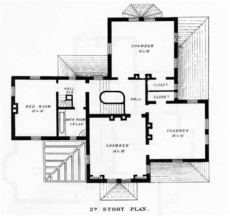 Victorian House Blueprints | farmhouse plans victorian house plans