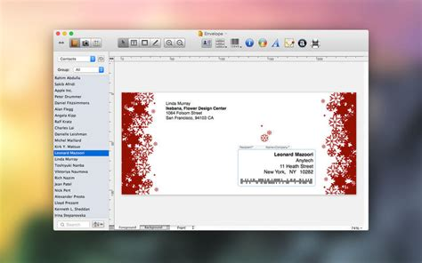 printing address labels mac os x labels addresses 1 7 1 powerful label and envelope