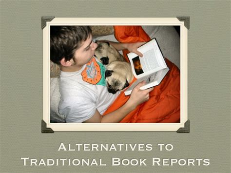 book report alternatives alternatives to traditional book reports