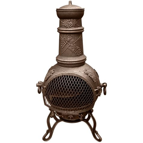 Cast Iron Chiminea Chimineas Chimeneas Garden Pizza Oven Bbq Outdoor