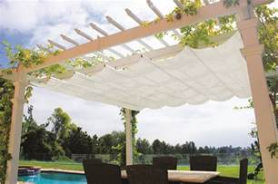 Pergola Canopies Retractable by Retractable Canopy For Freestanding Pergola Pergola Depot