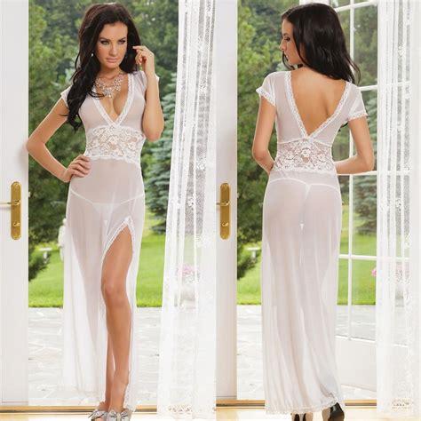 Dress Barn Customer Service Long Dressing Night Gown Transparent Dress Sleepwear