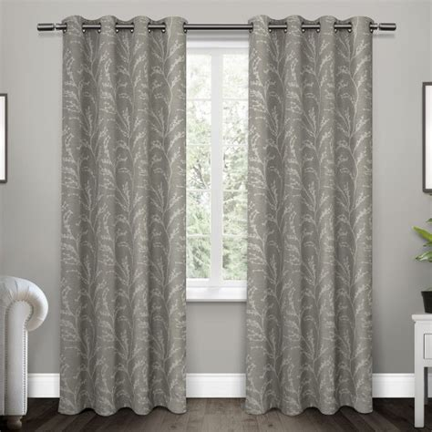 Best Place To Shop For Curtains Kilberry Woven Blackout Grommet Top Window Curtain Panel