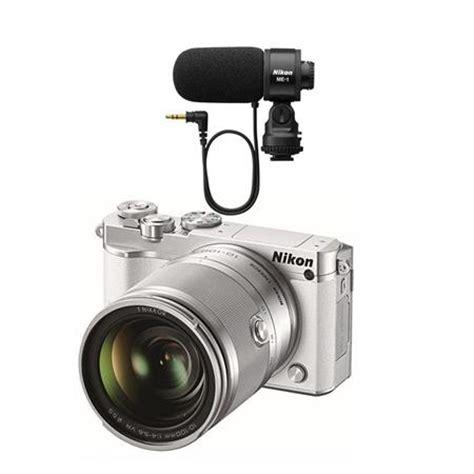 nikon 1 j5 mirrorless camera with 10 100mm vr lens white w