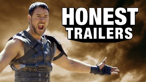 gladiator film trailer youtube honest trailers gladiator youtube