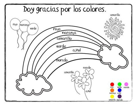 giving thanks doy gracias coloring page printable