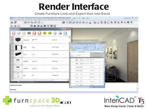 furnspace 3d intericad t5 interior design software furnspace 3d intericad t5 interior design software