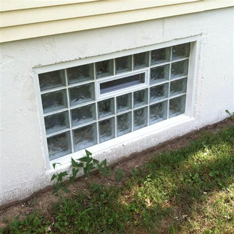 secure basement windows basement security windows in st louis glass block