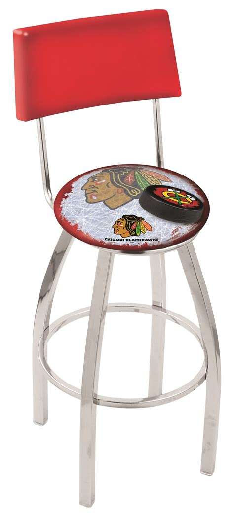 chicago blackhawks counter height bar stool w