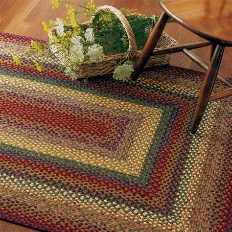 woven rugs cotton buy neverland multi color cotton braided rugs homespice