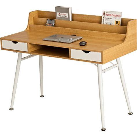 Retro Computer Desk Retro Style Computer Desk Home Office Laptop Writing Bureau Drawer Shelves Ebay