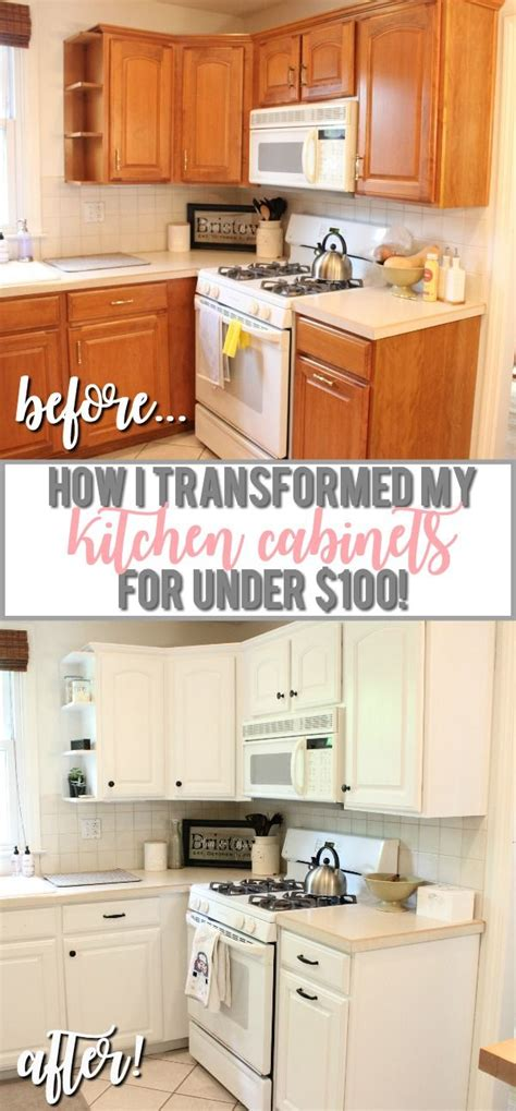 painted oak kitchen cabinets best 25 painting oak cabinets white ideas on pinterest