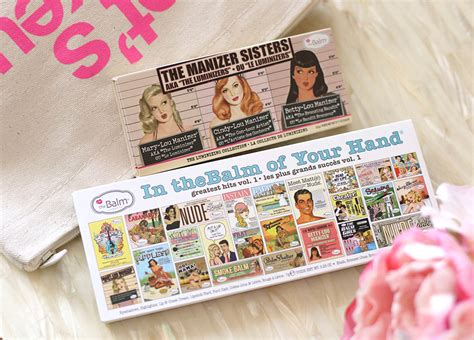 The Balm In Thebalm Of Your thebalm 2015 collection impressions makeup and