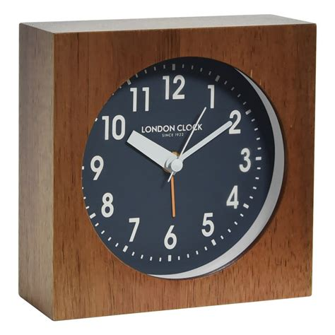 free shipping on clock company bailey silent alarm clock 12cm beyond bright