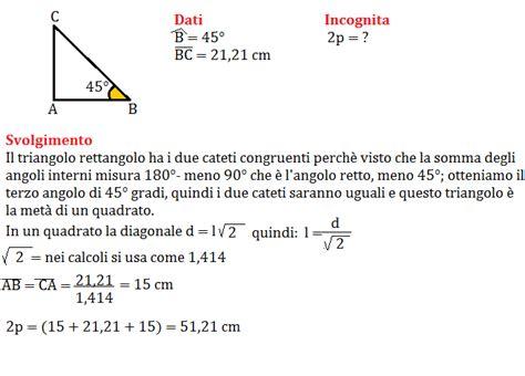 somma angoli interni trapezio problemi sul teorema di pitagora