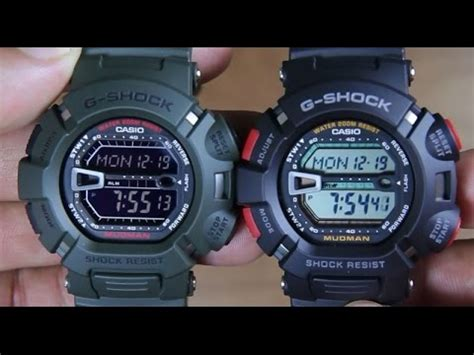 casio g9000 casio g shock mudman g 9000 3 vs mudman g 9000 1