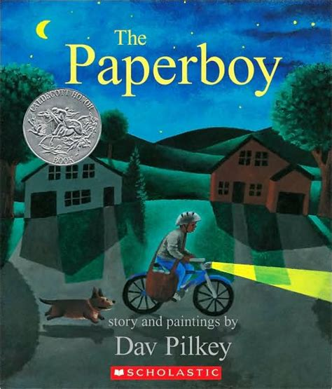 the boy books the paperboy by dav pilkey a book a day