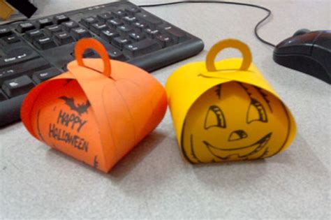 17 halloween paper bag templates images halloween craft