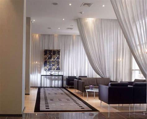 sheer curtain room divider decor house ideas