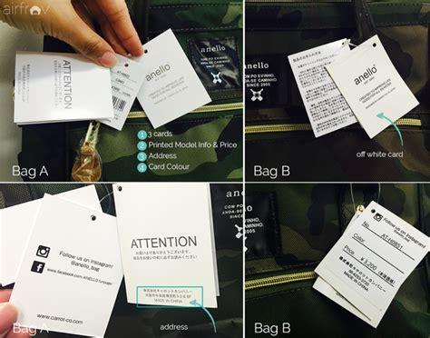 Tas Anello Palsu membedakan tas anello asli dengan yang palsu backpack id