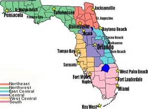 florida state map with major cities florida driving distances
