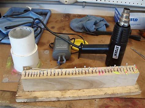 powder coating rack home made