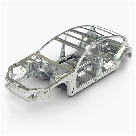 3d model car frame - Auto Gestell