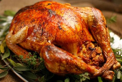 gourmet recipe roast turkey with pork sage and onion