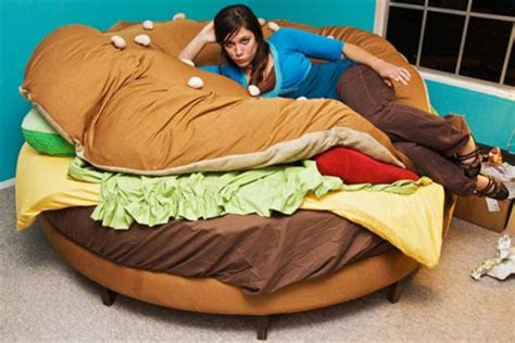 food bed the hamburger bed funny pictures