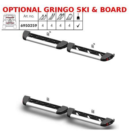 porta snowboard auto gringo ski board fabbri portasci e snowboard posteriore