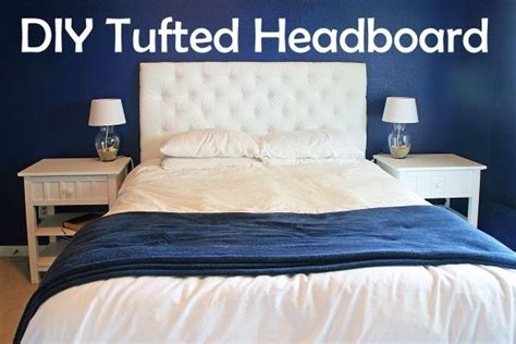 diy tufted headboard ideas diy tufted headboard tutorial diy furniture pinterest