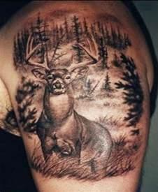 25 deer tattoos for men and women