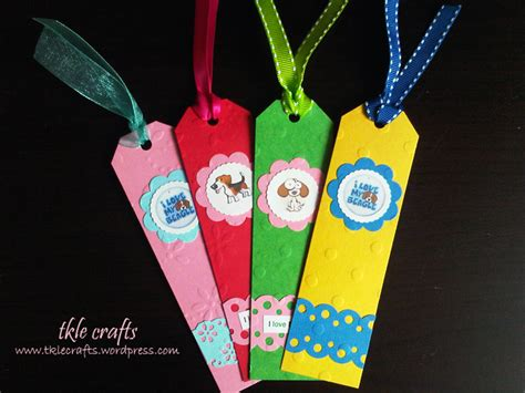 bookmark craft for bookmarks tkle crafts