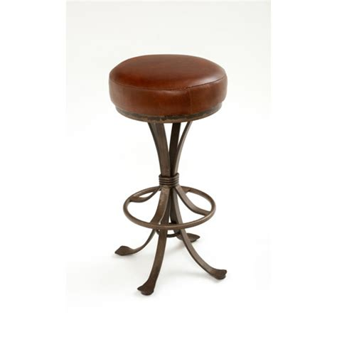 dining room bar stools steel traditions crestone swivel barstool with leather seat green gables