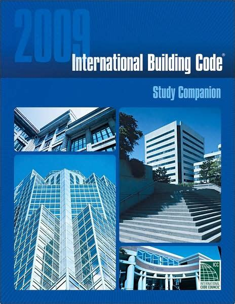 international building code 2009 international building code study companion edition