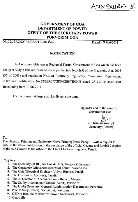 Request Letter Format To Electricity Board application letter to electricity dept