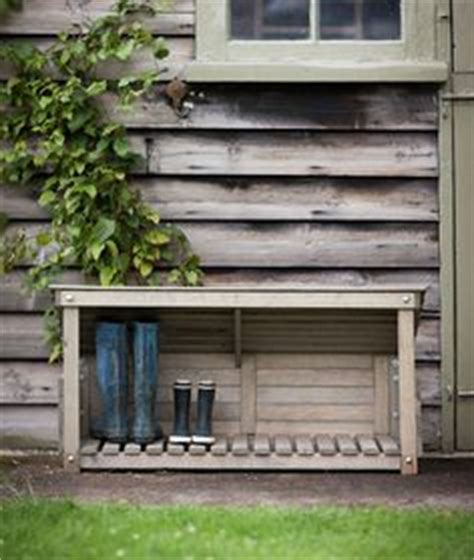 outdoor shoe storage box this sort of thing a box on its side placed the