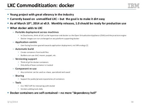 realizing linux containers lxc