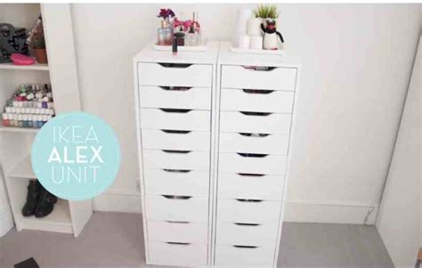 ikea makeup storage makeup storage ideas beauty by copperstar