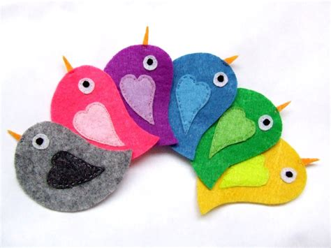 felt applique patterns felt appliques felt animals felt birds fabric appliques