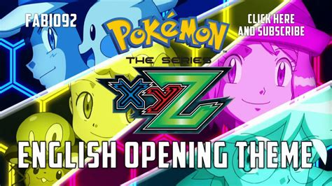 theme songs english pok 233 mon the series xyz english opening theme youtube