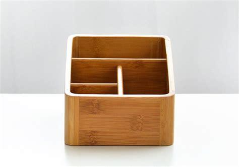 bamboo desk organizer 4 compartments bamboo desk organizer yi bamboo bamboo