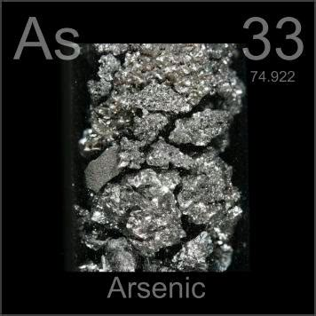 el elemento the element pictures stories and facts about the element arsenic in the periodic table