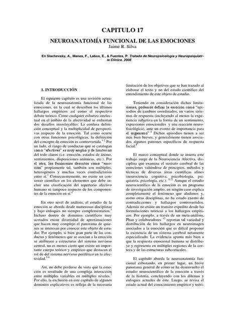 Neuroanatomia Funcional de Emociones