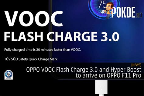 oppo vooc flash charge   hyper boost  arrive