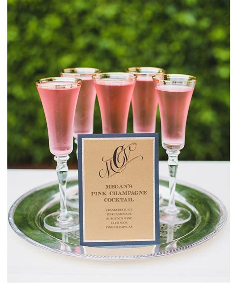 100 signature drinks mon cheri bridals